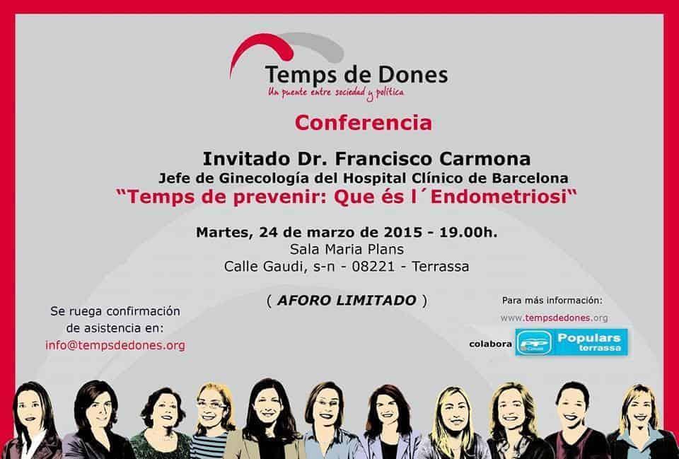 charla endometriosis dr. Carmona