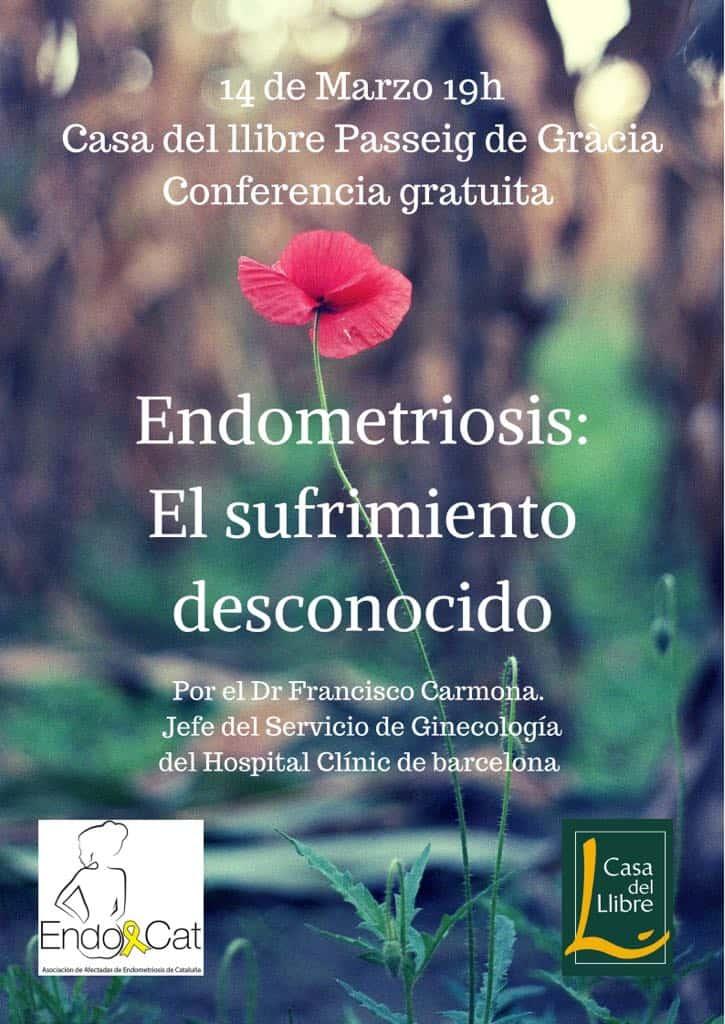Conferencia sobre la endometriosis en Barcelona
