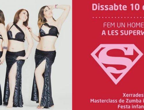 Taller de danza del vientre en la Super Woman del 10 de marzo