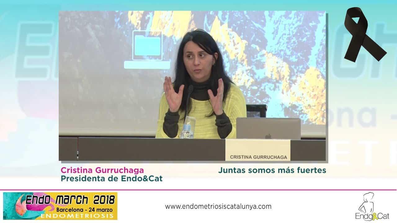 Cristina Gurruchaga, Presidenta de EndoCat