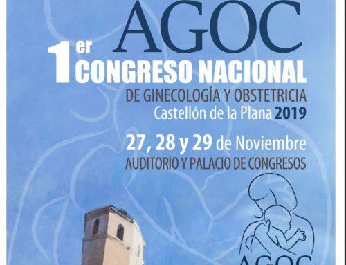 1º Congreso Nacional de Ginecología y Obstetricia en Castellón de la Plana. AGOC