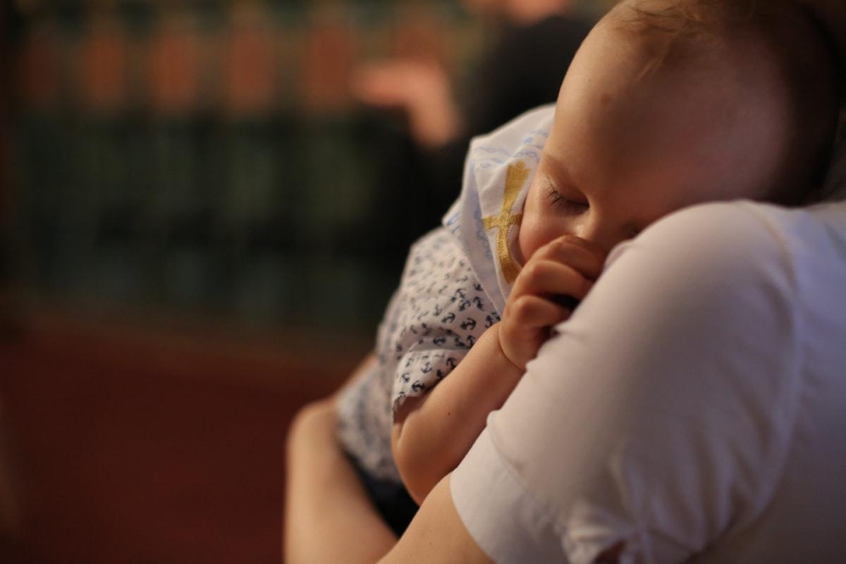 Potencio mi fertilidad. Bebé con su mamá